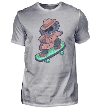 Koala Skateboard Australien Geschenk