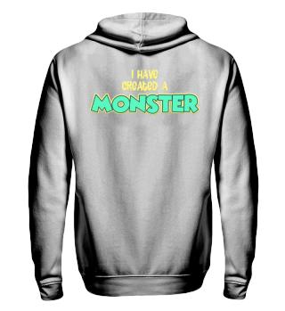 Vater Sohn Monster Partnerlook Pullover