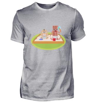 Speck Bacon Ei Lecker Lustig Essen Baby