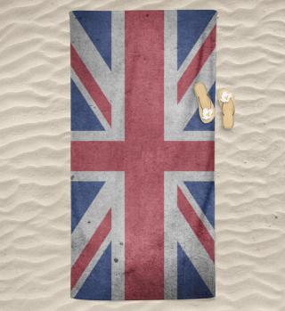 United Kingdom Union Jack Flag Grunge 2