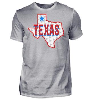 Herren Kurzarm T-Shirt Texas Ramirez