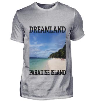 Paradise Dreamland Foto-designe Geschenk