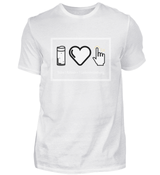 1 Kölsch + 1 Liebesbeziehung Herren Shirt