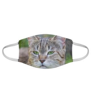 Gesichtsmaske mit Katzenmotiv 20.38