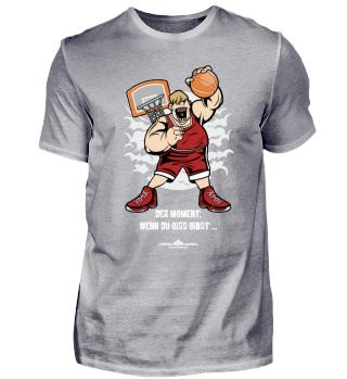 Basketball - Der Moment, wenn du oiss gi