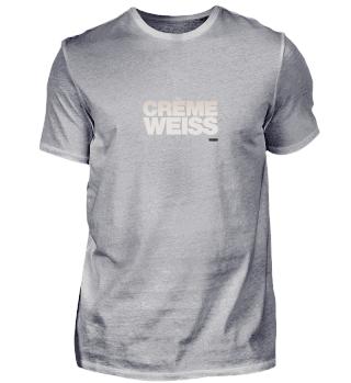 Crème Weiss Farbverlauf Farbe in Schrift