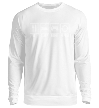 Eat Sleep Game Repeat - Pullover