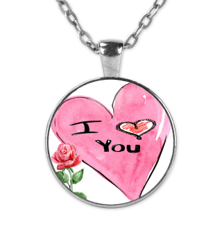 Love you Herz Valentinstag Geschenk idee