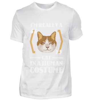 D007-0098B I'm really a Cat in a human c