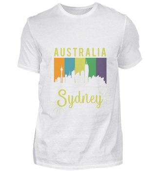 Australia Opera House Sydney Skyline