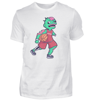 Basketball Zombie Sport Funny Gift