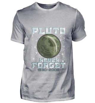 Universe Pluto T-Shirt Galaxy Stars Gift