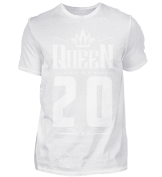 20. Geburtstag 20 Jahre Queen Königin w