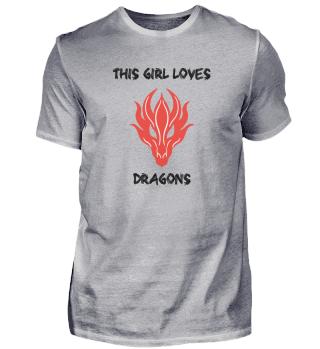 Dieses Mädchen liebt Drachen