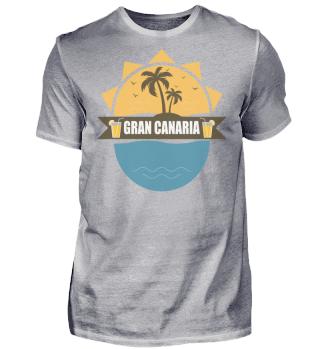 Gran Canaria T-Shirt Sonne