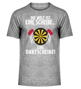 Dart · Darts · Die Welt ist eine Scheibe