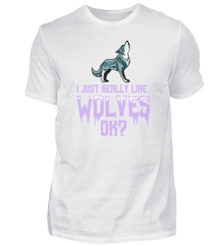 Funny Wolf Gift For Wolves Farmer
