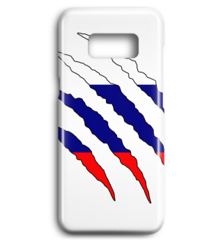 Russland Flagge Handyhülle Geschenk Idee