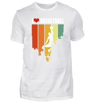 I Love Basketball Retro Edition