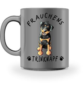 Frauchens Trinknapf Rottweiler Tasse
