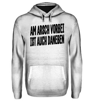 Am Arsch Vorbei - schwarz