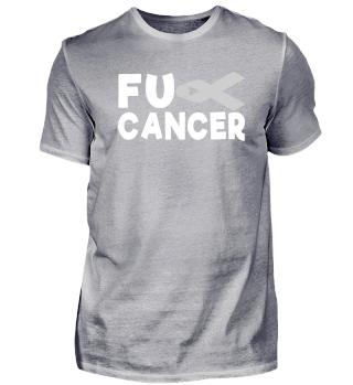 Fck Cancer Shirt brain cancer 13