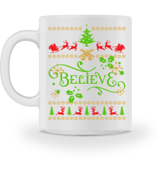 UGLY CHRISTMAS DESIGN - STRICKMUSTER #7.4