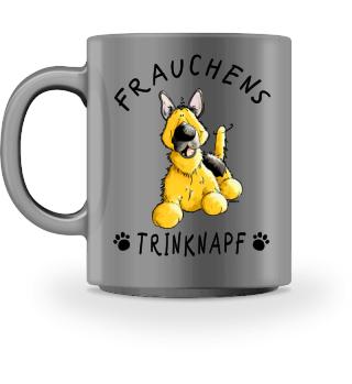 Frauchen Trinknapf Deutscher Schäferhund