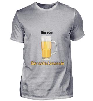 D010-0354B Bier - Ich bin vom Bierschutz
