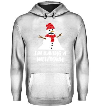 Weihnachten Schneemann Spruch Geschenk