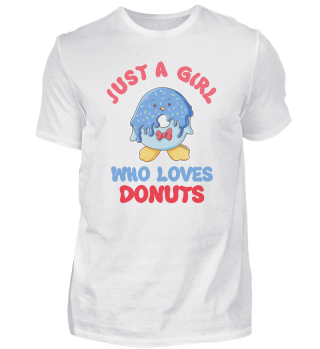 Just A Girl Who Loves Donuts Mädchen