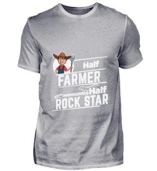 D001-0281A Proud Farmer Landwirt - Half