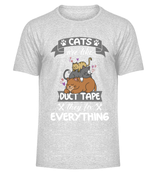 cats are like duct tape funny