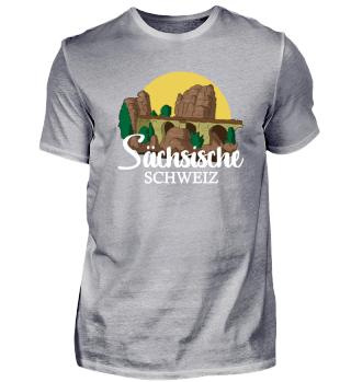 Sächsische Schweiz Wahrzeichen Geschenk