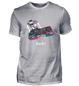 YaBerlin Berlin DJ Tee