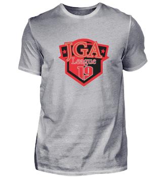 JGA League 2019 red and black