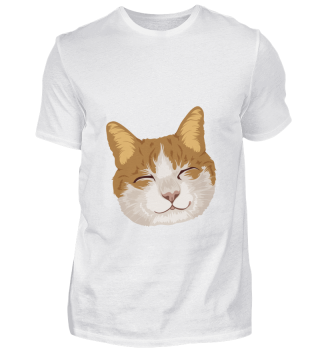 D007-0025 Smiling Cat / Lächelnde Katze