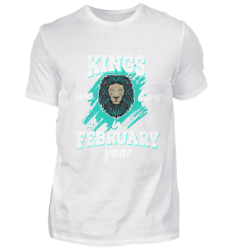 Kings are born in february year edition
