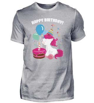 Einhorn Geburtstag Happy Birthday Kuchen