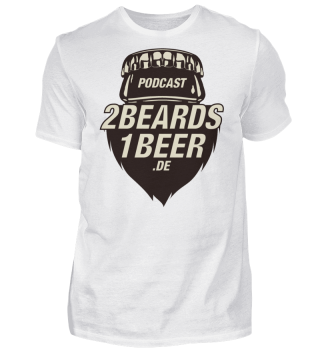 2 Beards - Basic-Fanshirt - nur Front