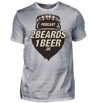 2 Beards - Basic-Fanshirt - nur Front
