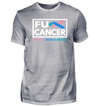 Fck Cancer Shirt the thyroid
