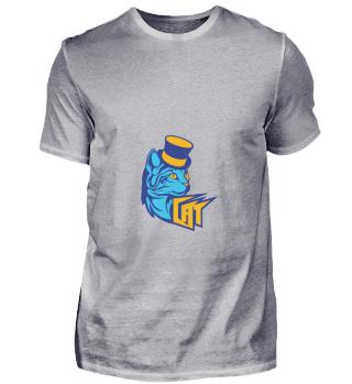 D004-0013 Blue Cat / Blaue Katze