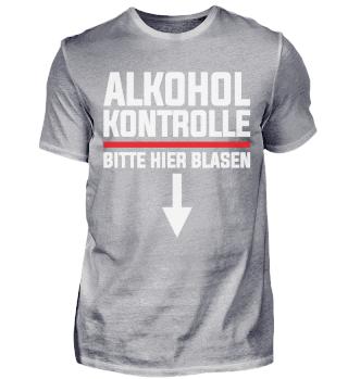Alkohol Kontrolle bitte hier Blasen