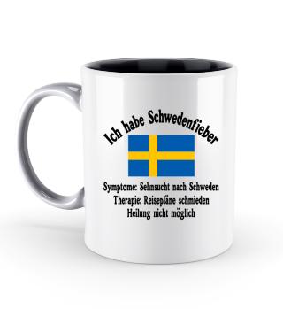 Schwedenfieber - Tasse - Schweden