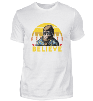 Bigfoot Believe Cool Sasquatch Sunglasse