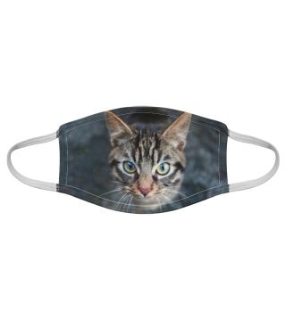 Gesichtsmaske mit Katzenmotiv 20.68