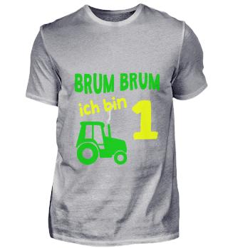 Brum Brum I am 1 year tractor children g