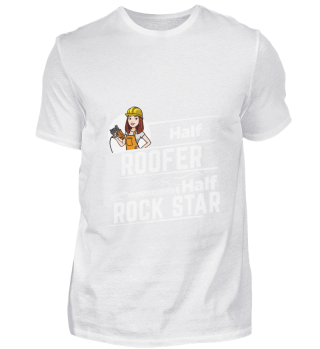 D001-0593A Female Roofer Dachdeckerin -