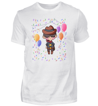 Cowboy Party Junge Fasching Geschenk